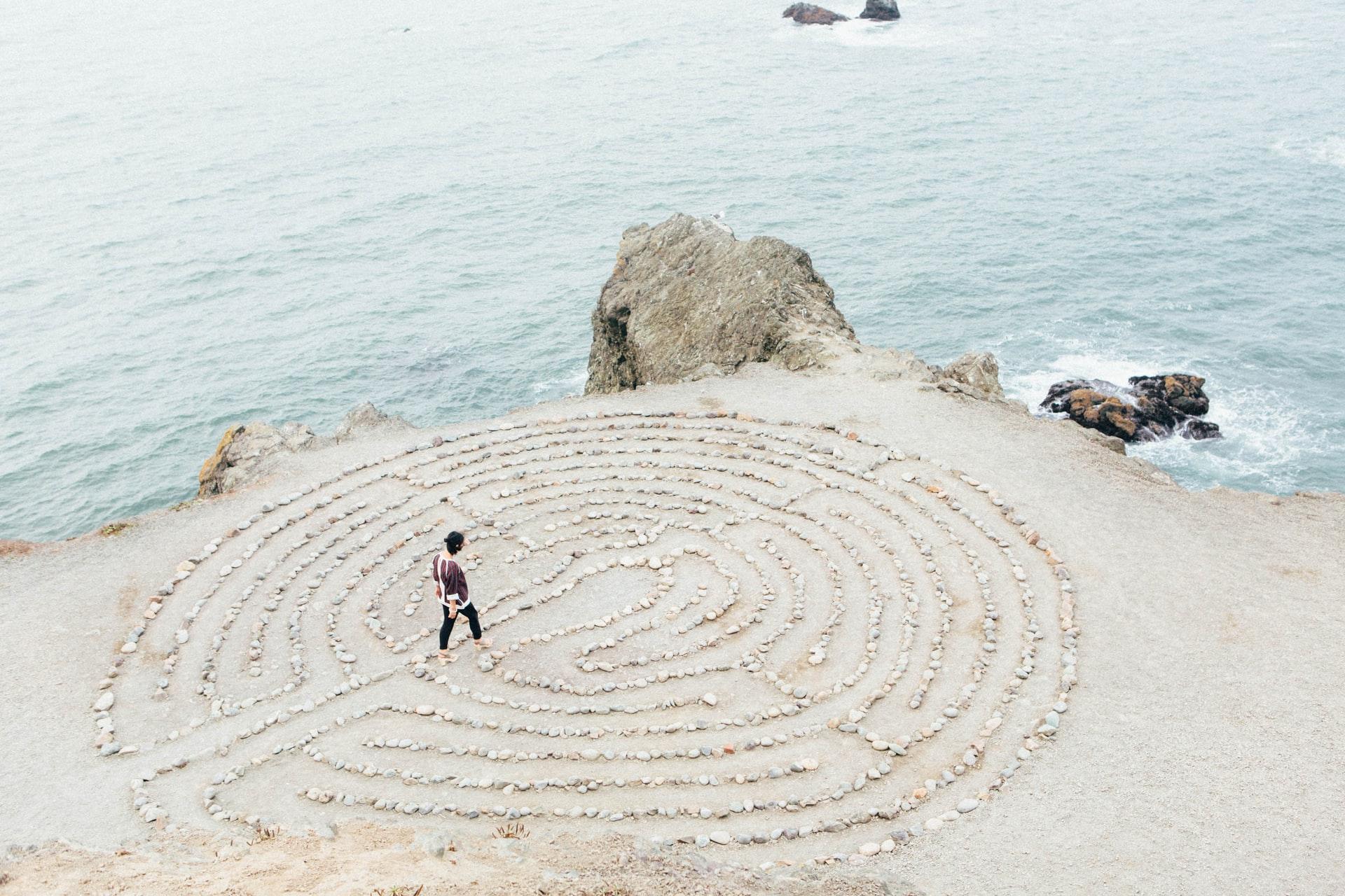 le labyrinthe du cheminement